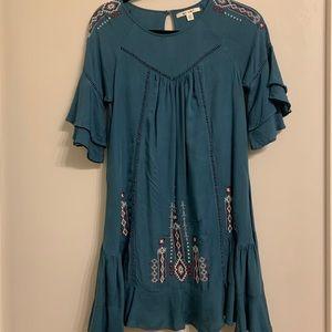 Francesca's Embroidered Dress